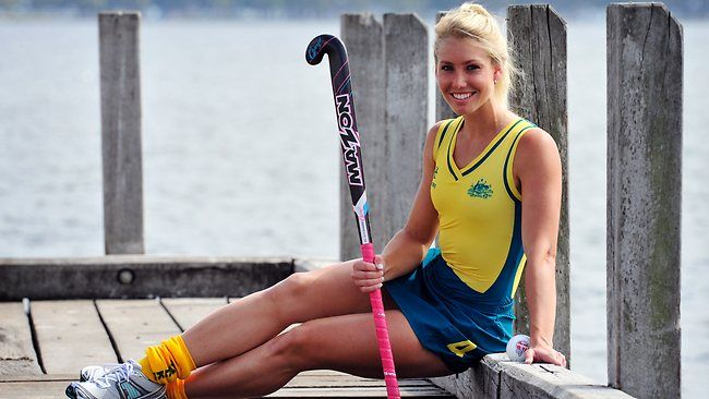 Casey Eastham - Australian Women's Field Hockey player