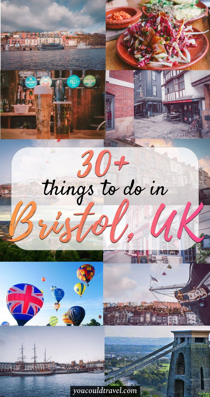 30+ Epic Things to do in Bristol - Wondering what are the best things to do in Bristol, UK? Here are 30+ things to do, including where to eat, what to try, where to walk and how to enjoy an epic weekend in Bristol. It includes information suitable for couples looking for a romantic weekend in Bristol as well as travellers interested in a good time. Ready to visit Bristol? #bristol #unitedkingdom #guide