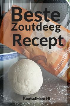 Beste zoutdeeg recept. KnutselMam.Nl, #knutselen, kinderen, basisschool, klei, DIY