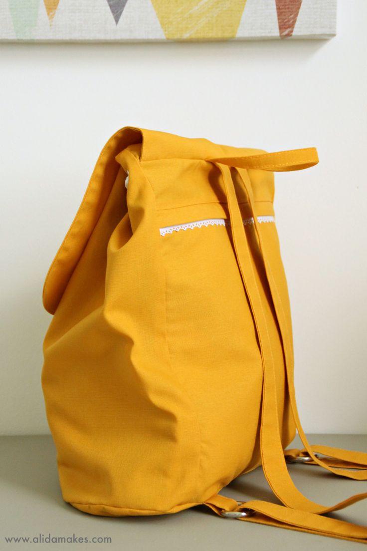The London Backpack - Alida Makes