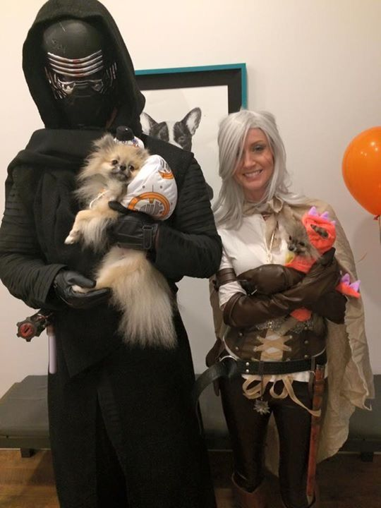 Our floofs won best costume at the local vet clinic http://ift.tt/2esn5qg