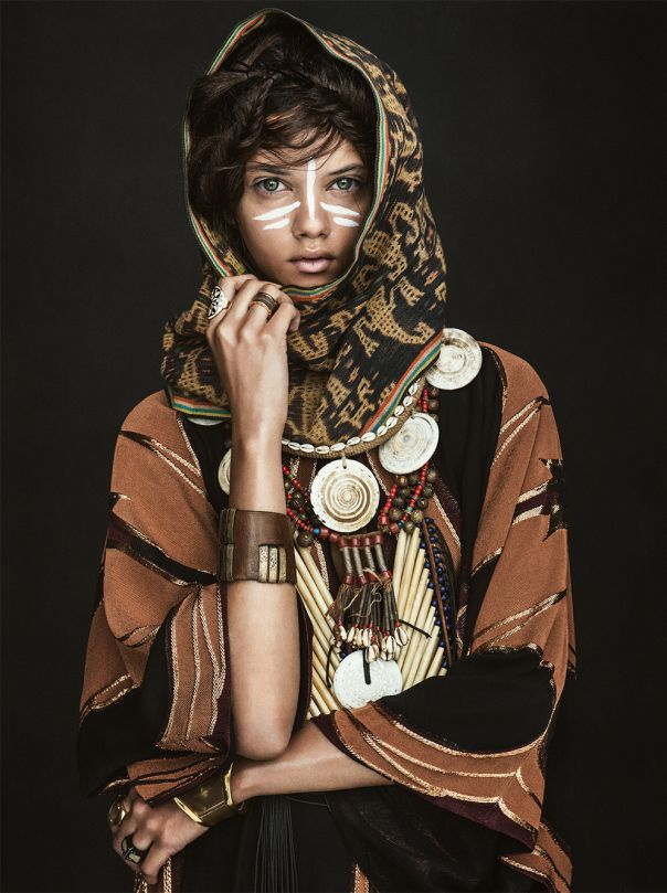 Marina Nery by Sebastian Kim for Vogue Australia April 2014 3