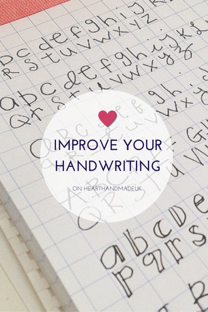 how to improve your handwriting heart handmade uk handwriting exercises best pens and lettering. Black Bedroom Furniture Sets. Home Design Ideas