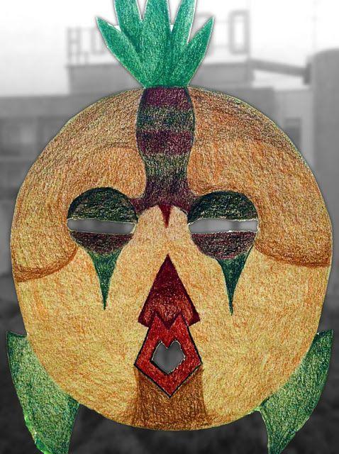 Arte alla Montalcini: Ghigni beffardi in terza A