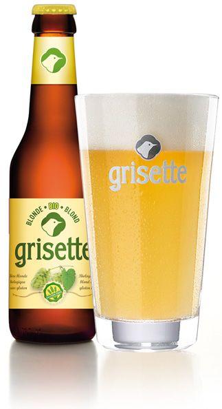 Grisette-BLONDE BIO, Brasserie St-Feuillien