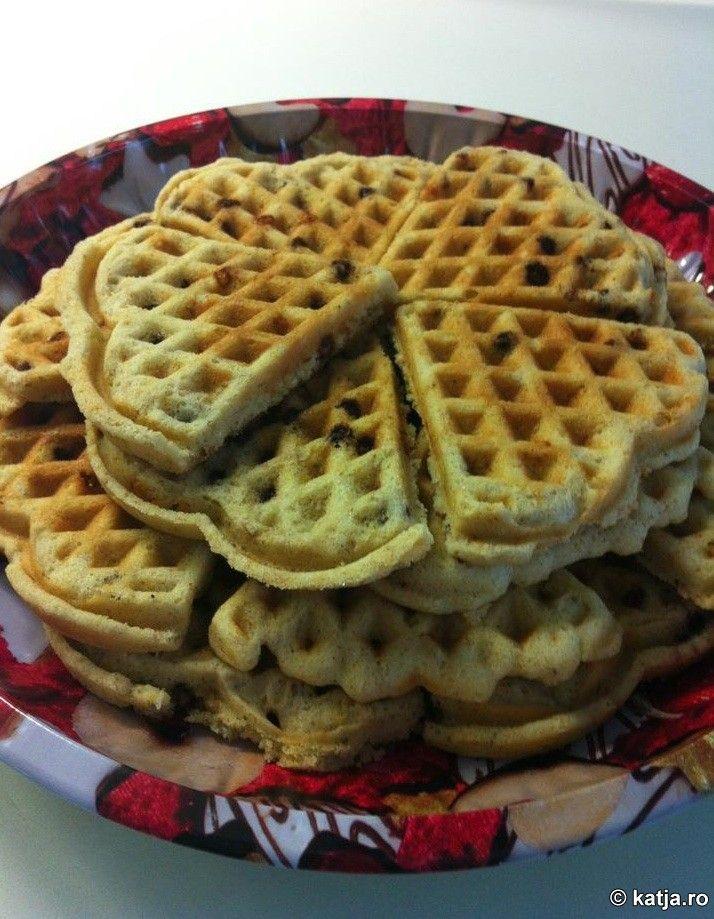 Gofre sau waffles mai aparte