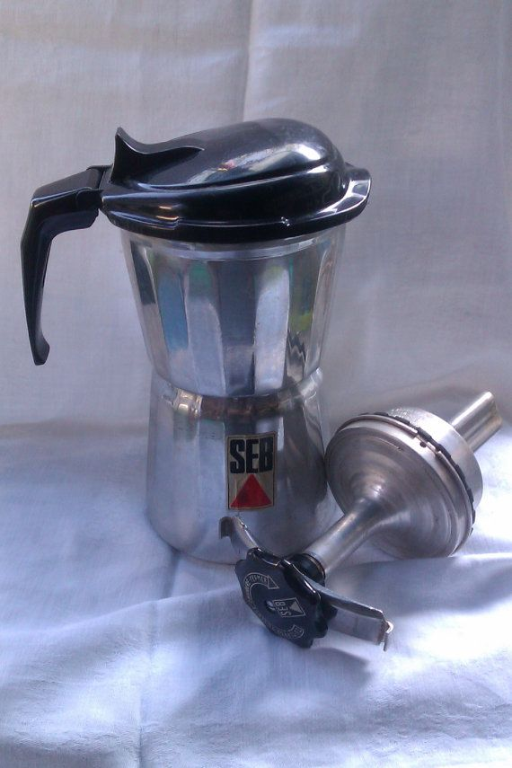 SEB Moka Espresso Cafetiere French Vintage by FrenchPastTimes