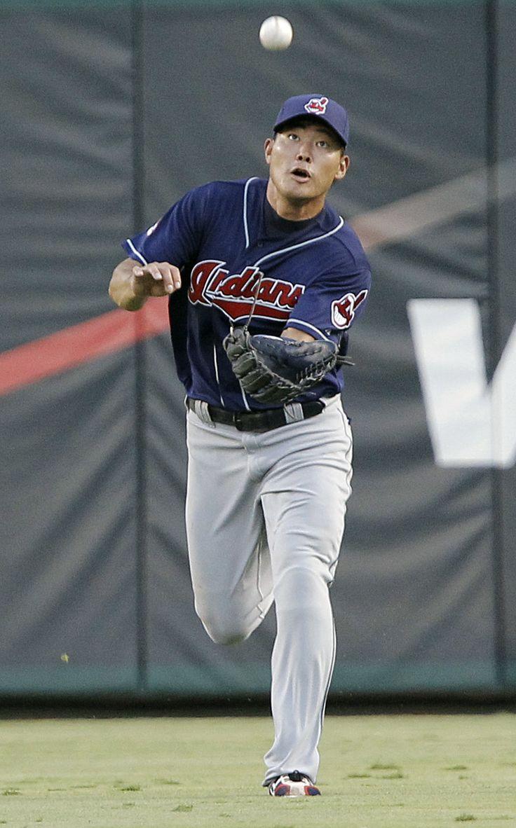 Kosuke fukudome cleveland indians indians baseballamerican leaguecleveland