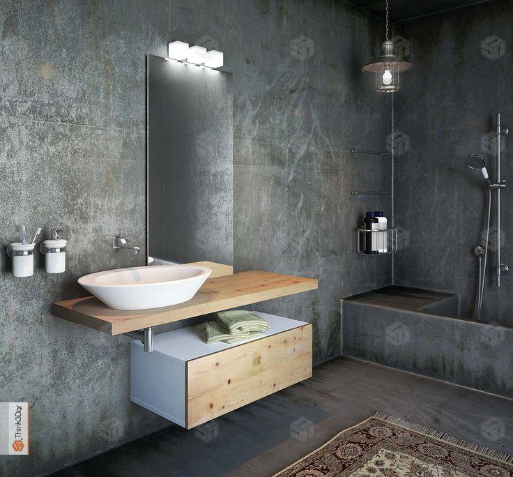 Τρισδιάστατος Σχεδιασμός & Φωτορεαλισμός επίπλων μπάνιου 3D Design & Photorealism of bathroom furnitures Trisdiastatos Sxediasmos & Fotorealismos epiplon mpaniou