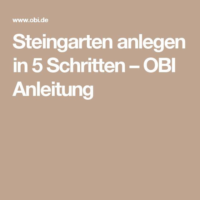 25 best ideas about steingarten anlegen on pinterest steinbeet anlegen steingarten and - Steingarten anlegen anleitung ...