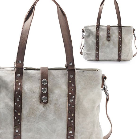 Noosa Amsterdam Shopper Bags Taupe | You All Over
