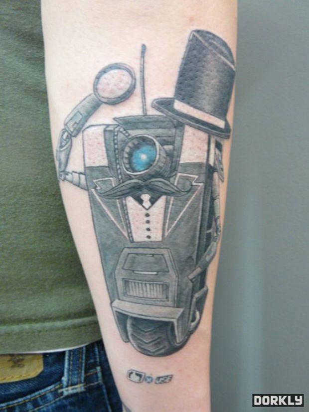 Les plus incroyables tatouages de jeu vidéo