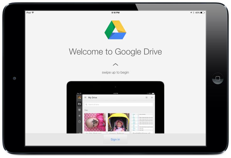 A Google Drive App for iPad Tutorial