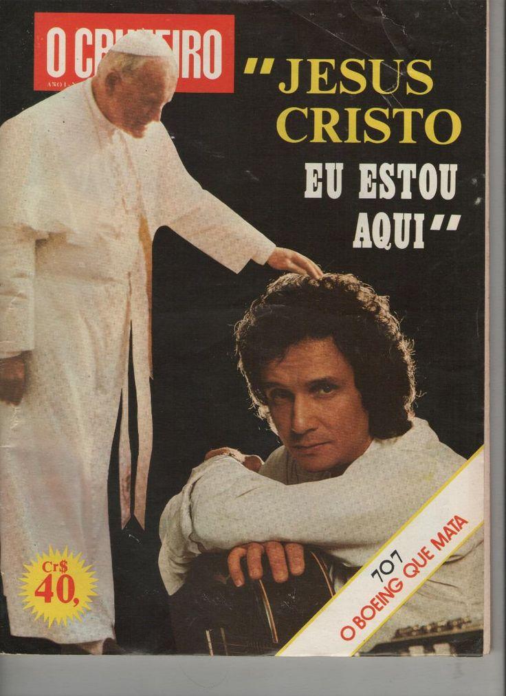 revista cruzeiro | roberto carlos papa joao paulo segundo revista o cruzeiro 19