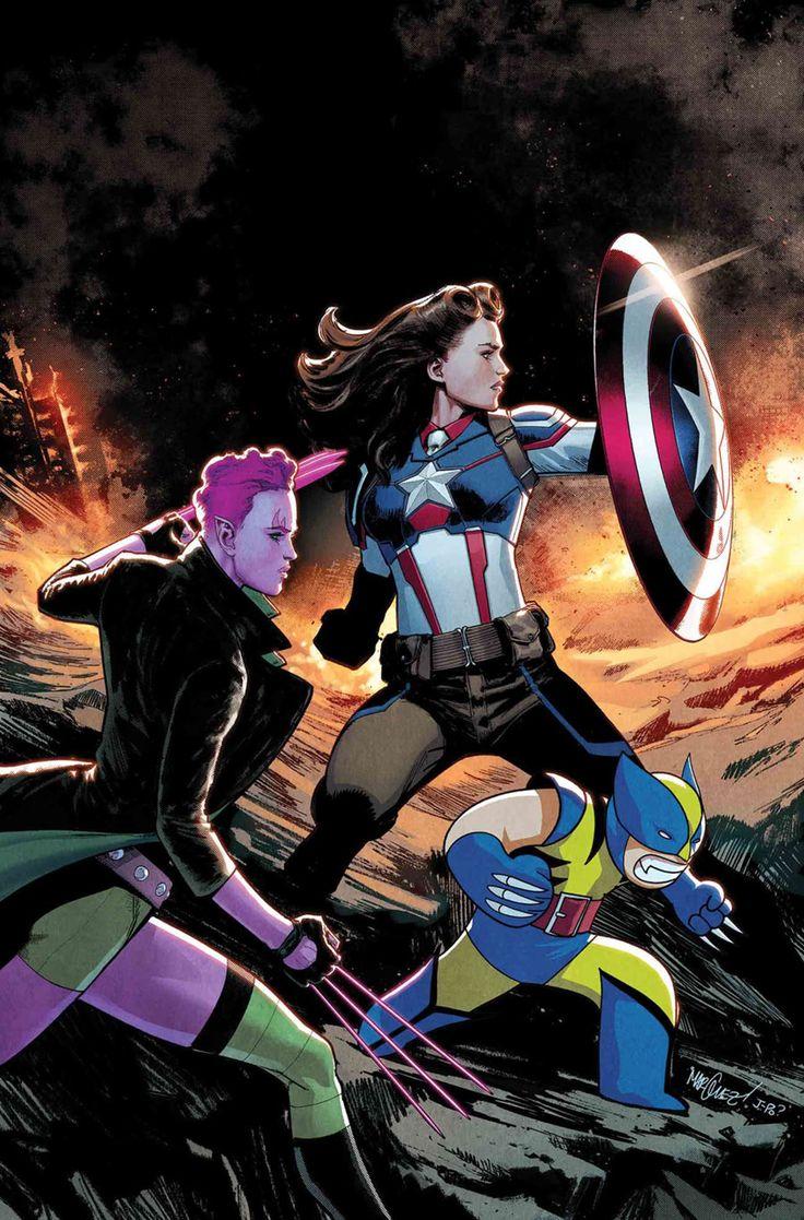Agent Carter (Peggy Carter) as Captain America, EXILES https://nerdist.com/peggy-carter-captain-america-exiles-marvel/?utm_campaign=coschedule&utm_source=twitter&utm_medium=nerdist&utm_content=At%20Last,%20Peggy%20Carter%20is%20CAPTAIN%20AMERICA