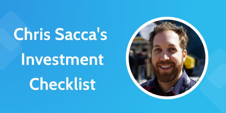 Lessons from a Shark Tank Success Story: Chris Sacca's Investment Checklist