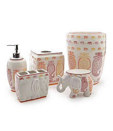 Creative bath silk road bath accessories dillards home sweet home pinterest silk road for Dillards bathroom accessories sets