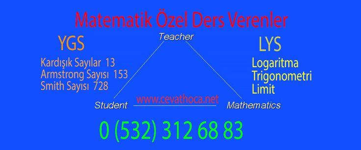 Matematik Geometri derslerini çalışma isteği olan ve ders çalışma tekniklerini de öğrenmiş bir öğrencinin işi çok kolaydır.