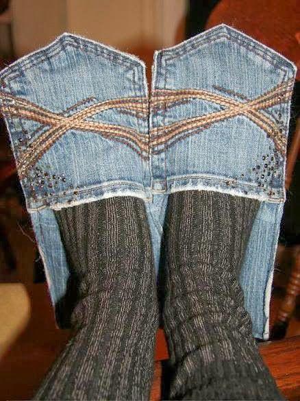 Reciclar Calças de Ganga (Jeans) em Chinelos