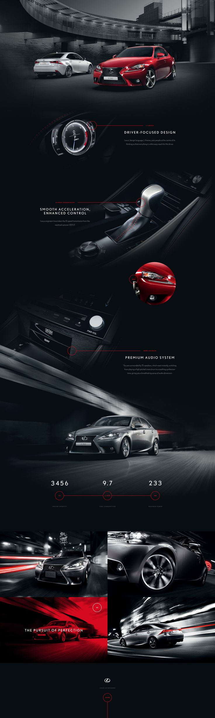 Lexus of Brisbane | Twofold Graphic & Web Design