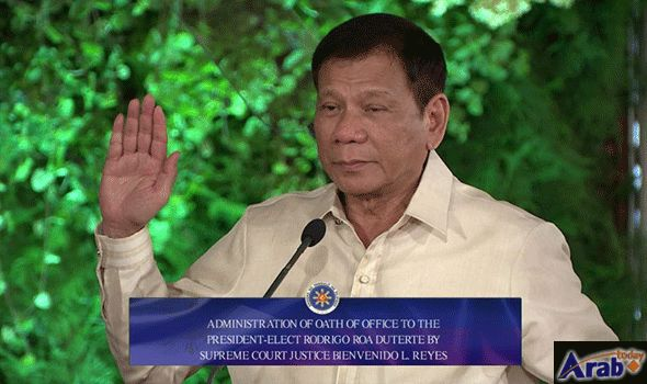 Rodrigo Duterte Sworn in as President of…: Rodrigo Duterte has been sworn in as president of the Philippines, after a landslide election…