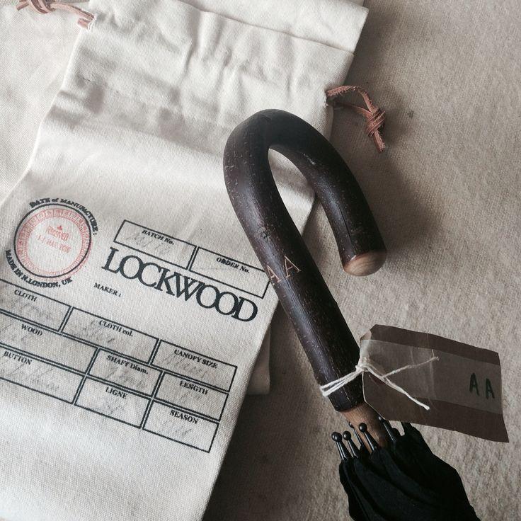 Lockwoodumbrellas. Hand engraved initials.