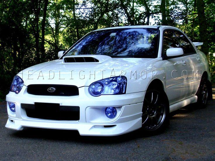 subaru wrx sti | ... Armor HID Blue Headlight Protection Kit 04-05 Subaru Impreza WRX & STI