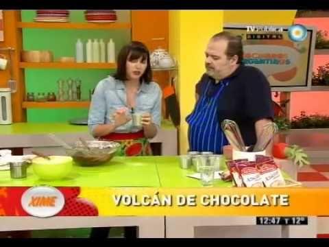 Volcan de chocolate - cocineros argentinos