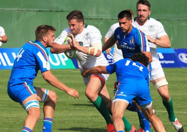 Bonus point win gives Ireland perfect start in Tbilisi Cup Tbilisi #Tbilisi