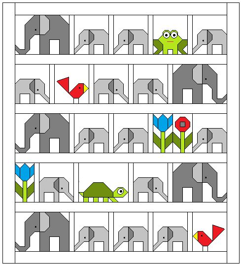 Welcome to the Elephant Parade! Beginning today, I will be showing a block each week and would...
