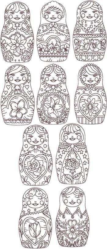 ruske panenky