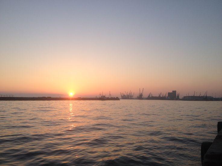 Sunset in Thessaloniki
