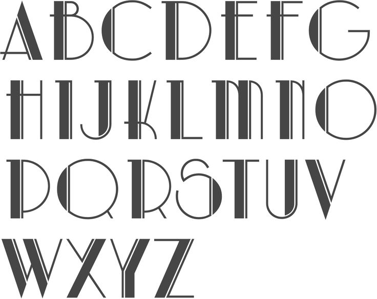 Top 10 best Lettering & Fonts images on Pinterest | Art deco font  JA76