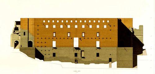 Roman Theather of Sagunto, Giorgio Grassi