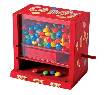 how to build a candy machine