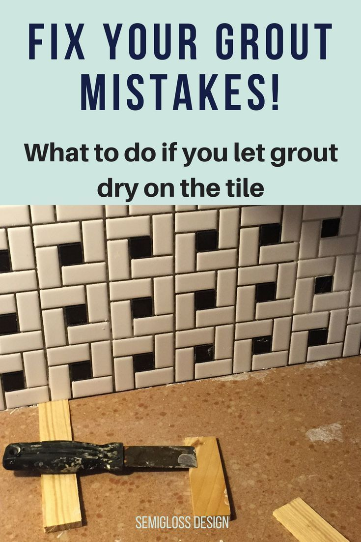Don T Make These Mistakes While Grouting Home Improvement Home Improvement Projects Home Improvement Loans