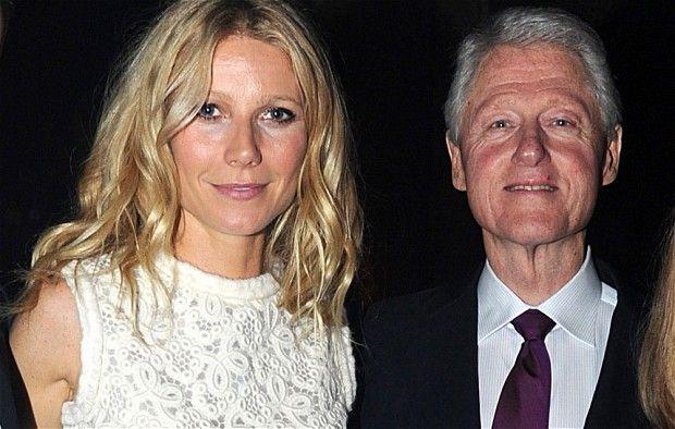 Gwyneth Paltrow dan Bill Clinton #in