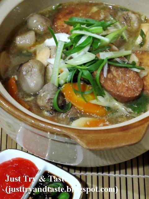 Just Try & Taste: Sapo Tofu Tuna