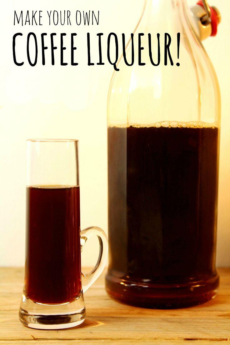 Make your own coffee liqueur (or Kahlua)