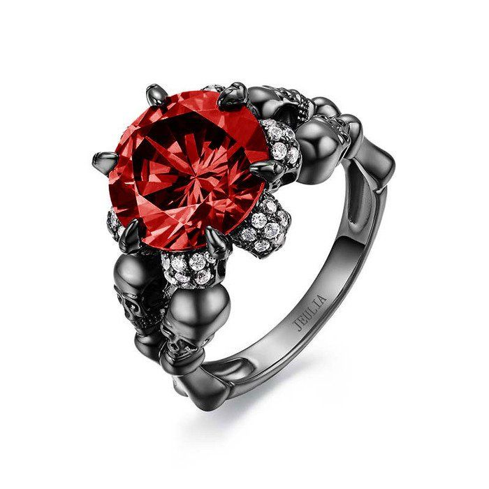 Engagement Rings With Skulls April 2017