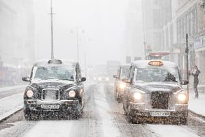 The beast from the east hits the UK – in pictures | UK news | The Guardian
