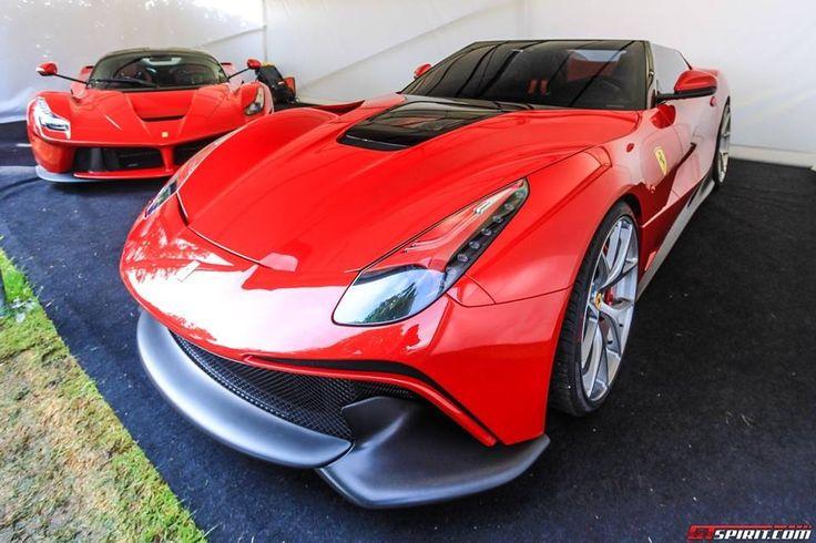 Ferrari F12TRS en el festival de Goodwod 2014