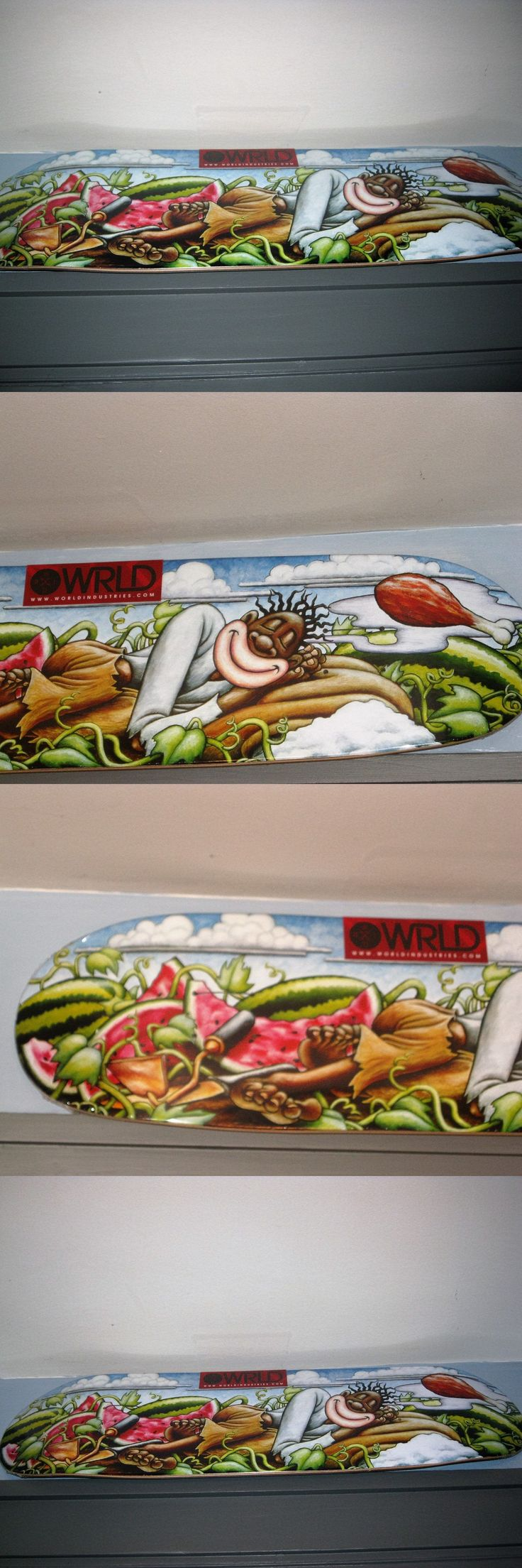 Decks 16263: Jovontae Turner World Industries Skateboard Deck Napping -> BUY IT NOW ONLY: $299.99 on eBay!