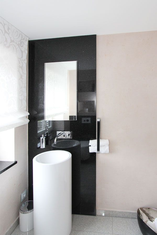 13 best Badezimmer ohne Fliesen images on Pinterest - badezimmer schwarz weiß