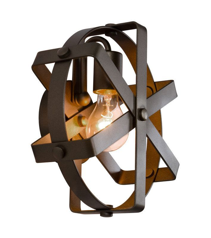 View The Varaluz 242W01 Reel 1 Light Recycled Steel Wall Sconce At LightingDirect