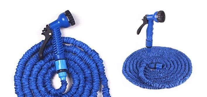 $14 for a 50 Foot Expandable and Retractable Garden Hose OR $19 with Multifunctional Nozzle (Up to $59 Value)