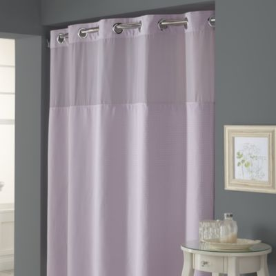 8 best hookless shower curtain images on pinterest hookless shower hookless waffle lavender w x l fabric shower curtain and liner set bed bath beyond urtaz Choice Image