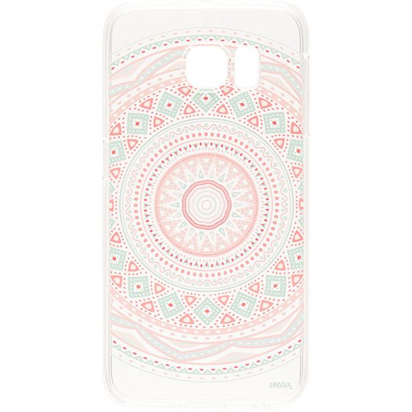 Anna Mandala Galaxy S6 Case Clear TPU snap on iPhone 6/6s case. Direct access to all device features. Print design.