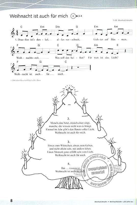 Neue Weihnachtslieder Für Kindergartenkinder.Weihnachtslieder Alle Jahre Neu Von Meinhard Ansohn Im Stretta