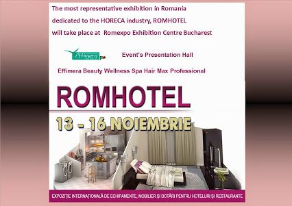 Event's Presentation Hall ROMHOTEL BUCHAREST Effimera Beauty Wellness Spa Hair Max Professional